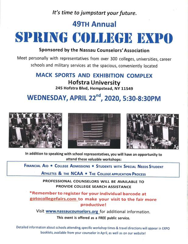 49th Annual Spring College Expo Featured Photo