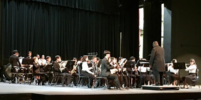 SPHS Symphonic Band Performing at Festival