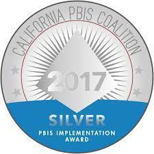 PBIS Silver Award 2017