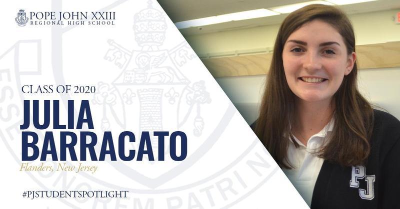Julia Barracato PJ Student Spotlight