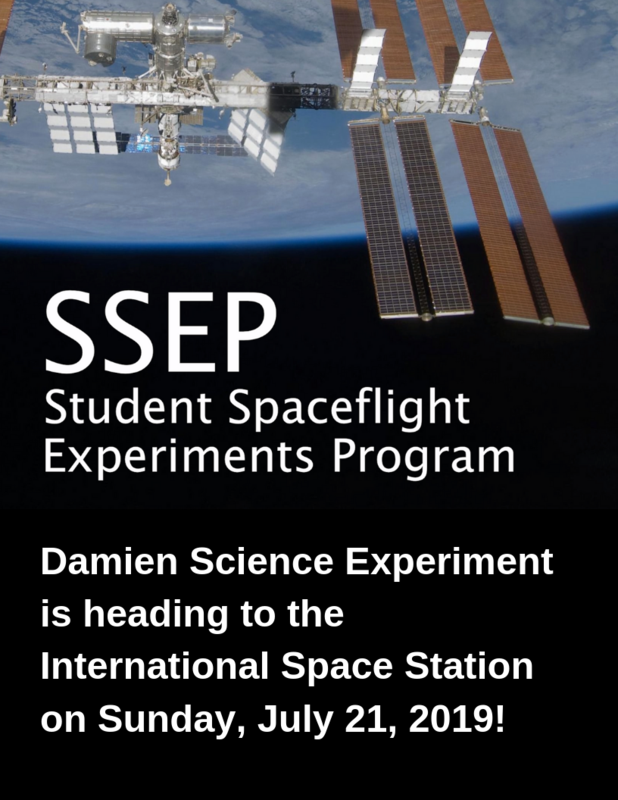 Damien's participation in SSEP creates a valuable opportunity to engage students in real-world learning experiences. Featured Photo