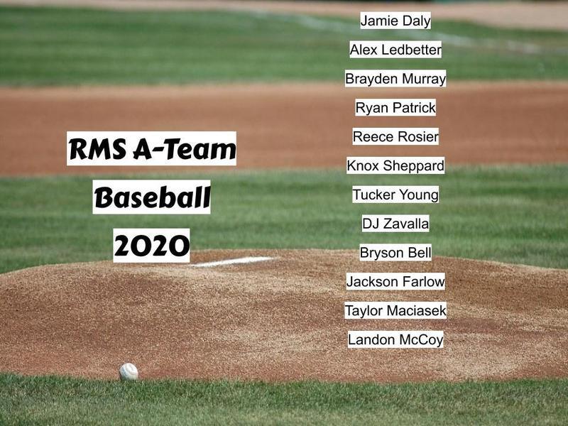 2019-2020 A Team Baseball Team Featured Photo