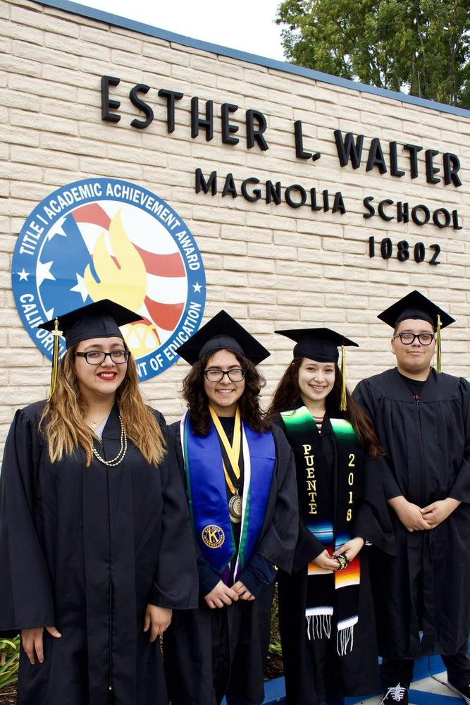 Former Walter Students Graduating from Magnolia High School