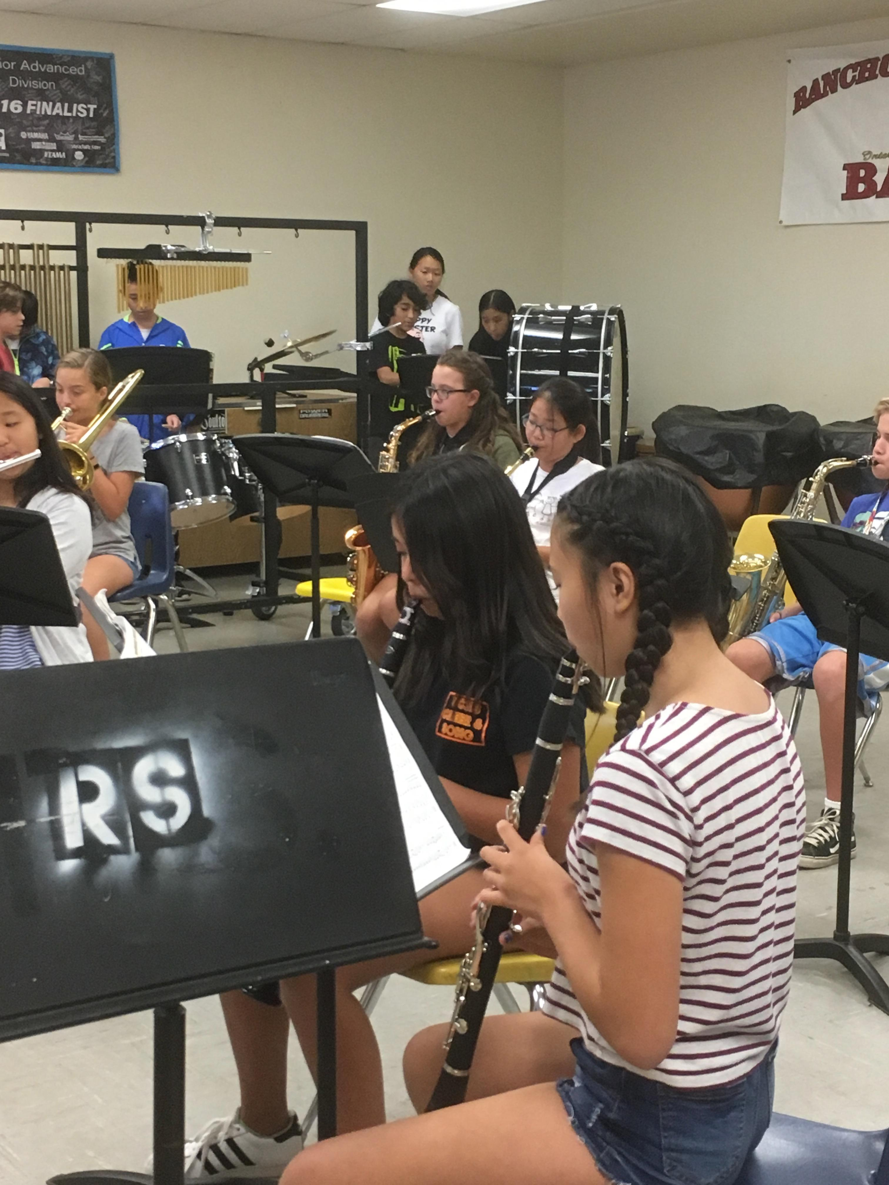 Summer Session Band Hosting Students From China