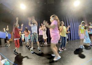 Ukiah Unified students at SPACE Dance Class 2