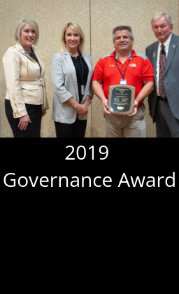 The Reeds Spring school board received the Missouri School Boards' Association's 2019 Governance Team Award. Only 33 of the more than 500 school boards in the state earned this prestigious award. This is the sixth consecutive year for Reeds Spring to be recognized.  This award is based on an outstanding commitment to ongoing professional development in student achievement, school law and finance, board operations, and contemporary issues in education. It also recognizes the board's commitment to regional and statewide leadership, and active participation in legislative advocacy for public schools and the students they serve.  To qualify, the school board had to meet the following criteria: All seven school board members have completed the Essential certification from MSBA. The district is