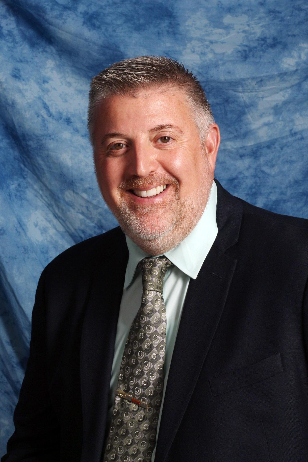Asst. Superintendent John Bennetti Portrait