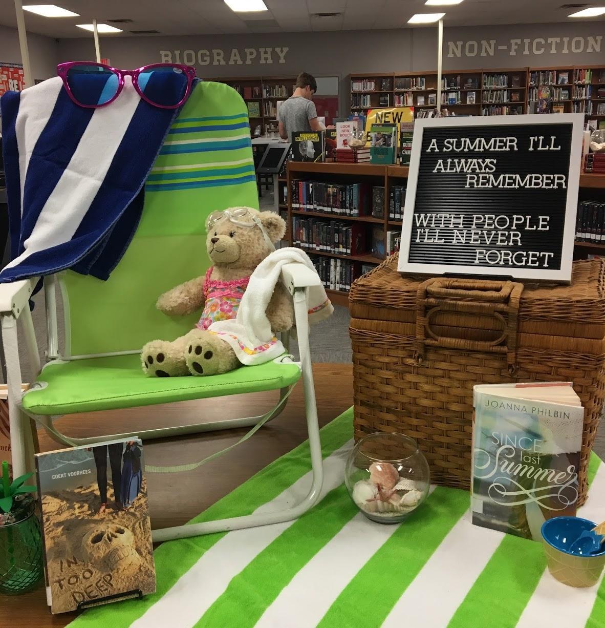 Summer theme display