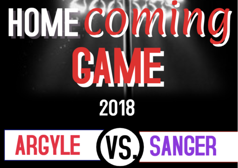 ARGYLE HOMECOMING GAME - THIS FRIDAY Thumbnail Image