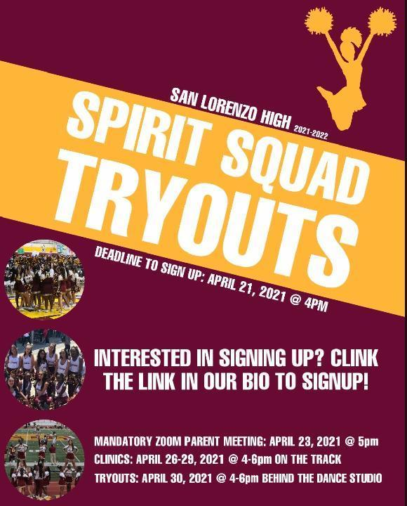 Spirit Squad Tryouts Featured Photo