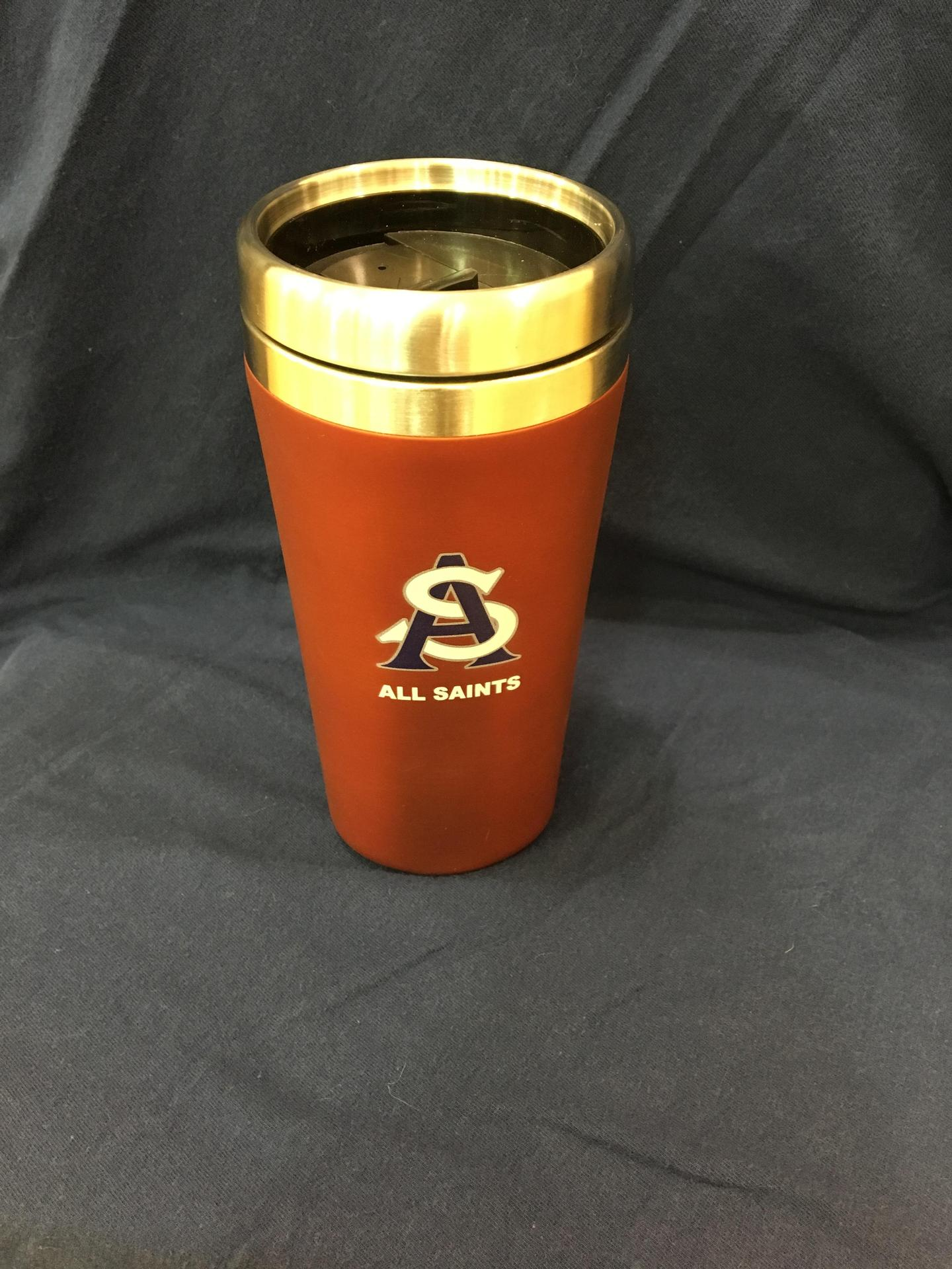 ASCS Red Tumbler with Logo