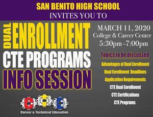 Dual Enrollment/ CTE