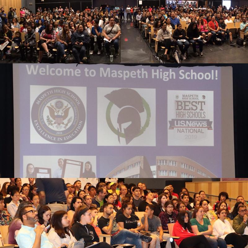 Class of 2023 Takes First Steps @ Maspeth High Featured Photo