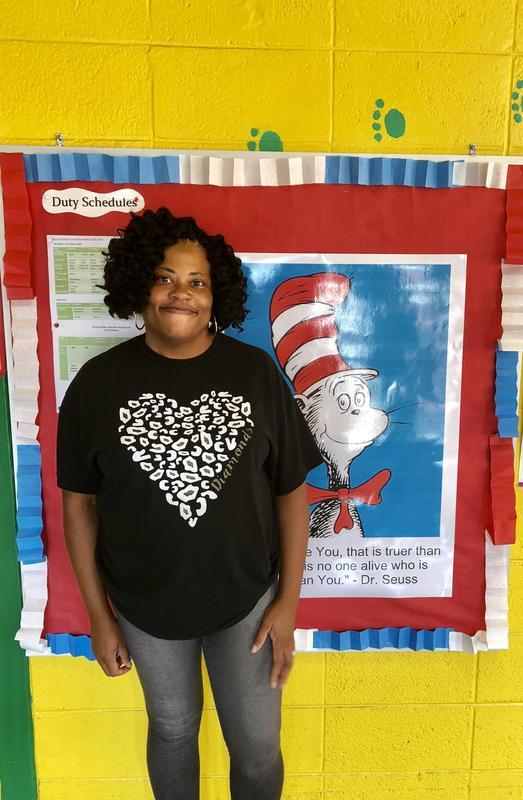 August Volunteer of the Month, Ms. Kathy Howard