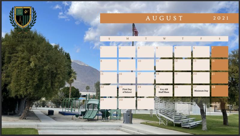 August 2021 Calendar Featured Photo