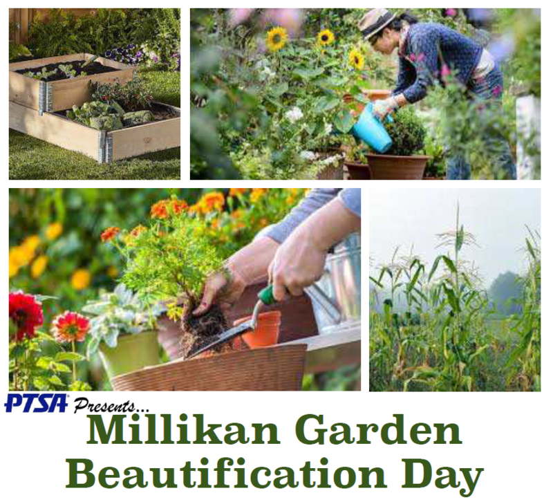 Millikan Garden Beautification Day Featured Photo