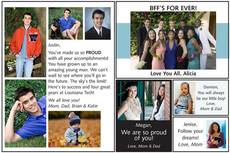 Yearbook Senior Dedication Page Featured Photo