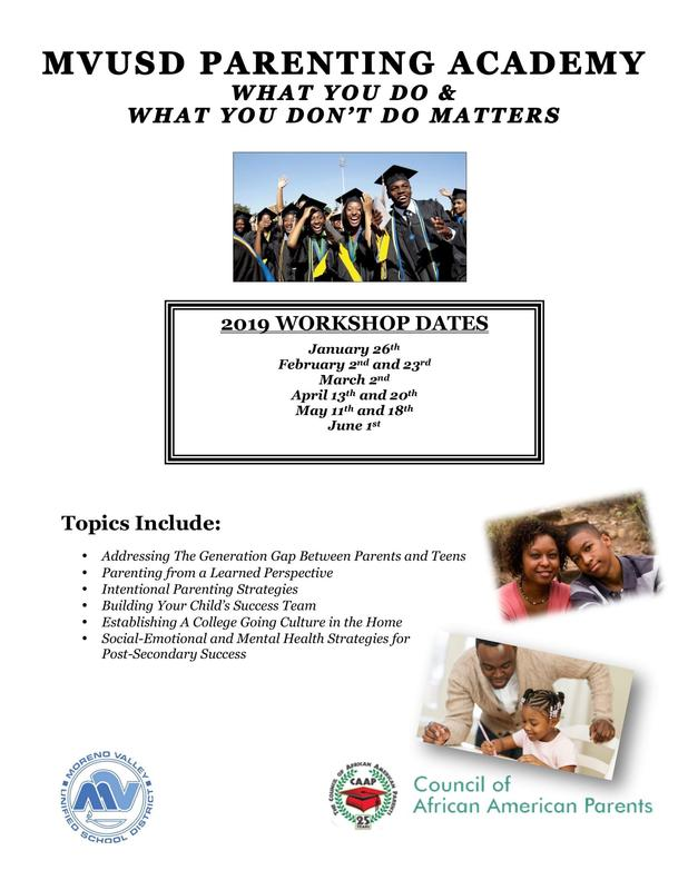 Parenting Workshop Flyer