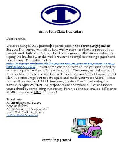 Parent Engagement Survey Featured Photo