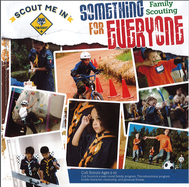 Boy and Girl Scouts Recruiting Event Featured Photo