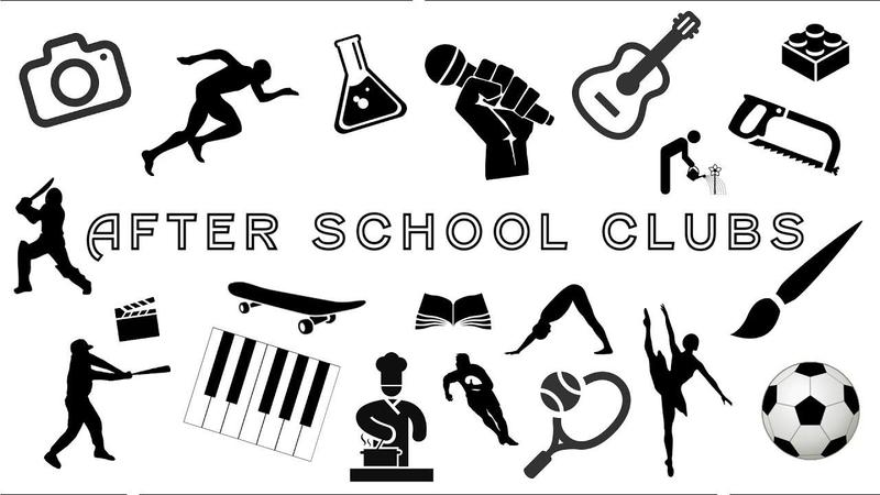 After School Clubs for CHS