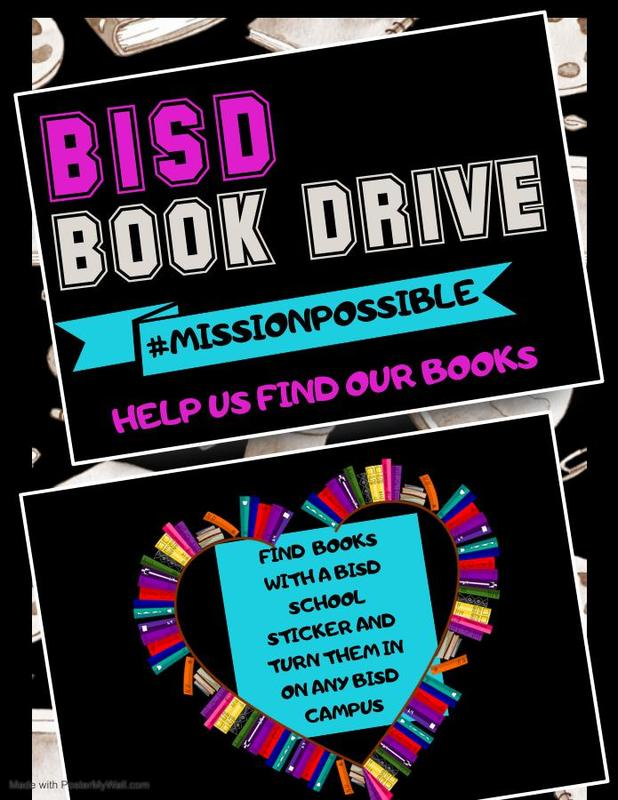 Can you help BISD find our books?! Featured Photo