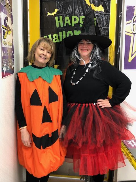 Pumpkin & Witch Costume
