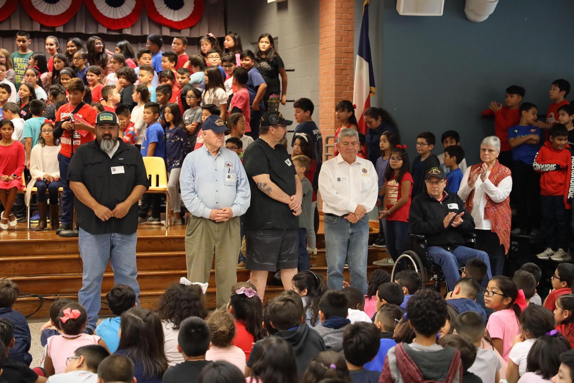 Deepwater Elementary students celebrate Veterans Day