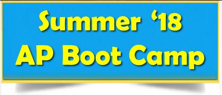 Summer '18 AP Boot Camp Thumbnail Image