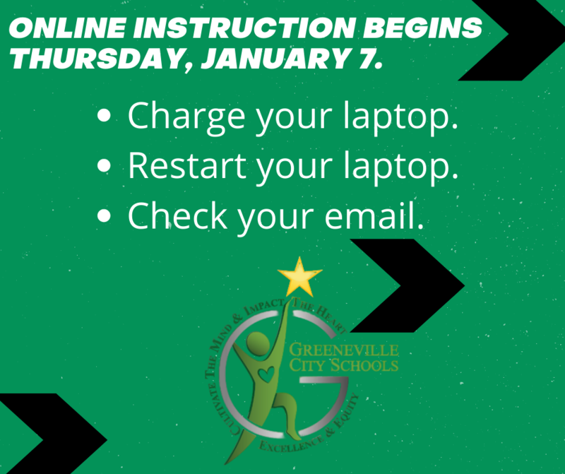 GCS online instruction info