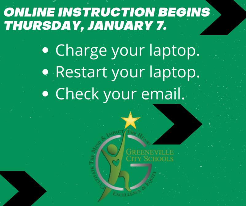 GCS online instruction info