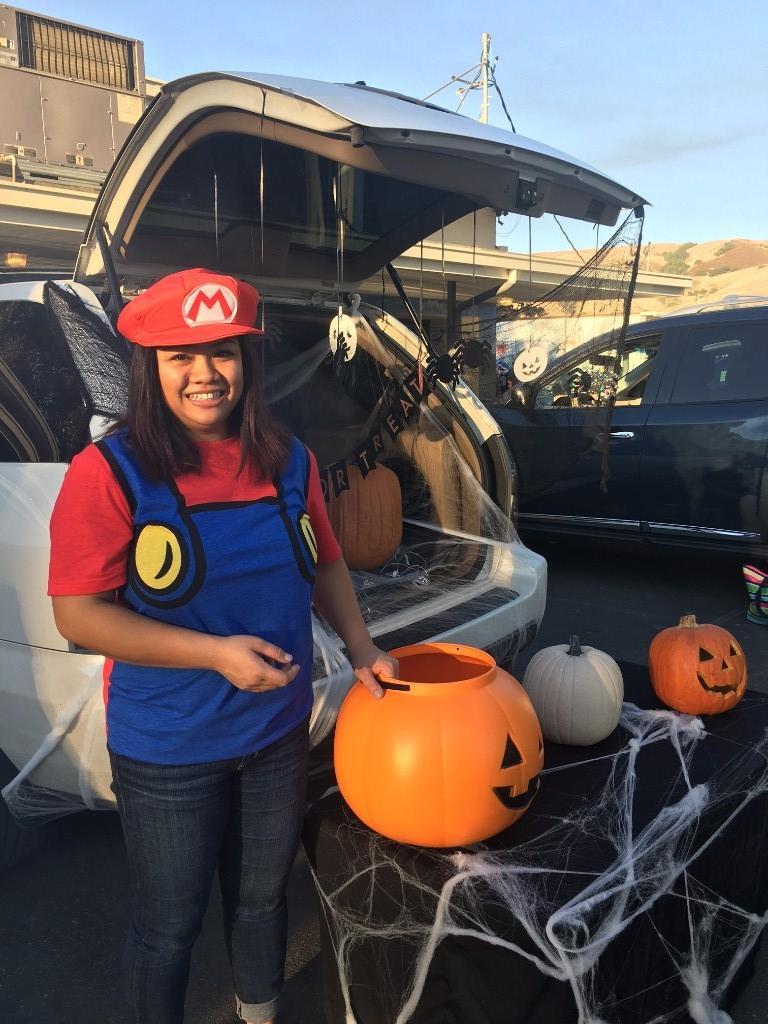 Mario Bors themed trunk
