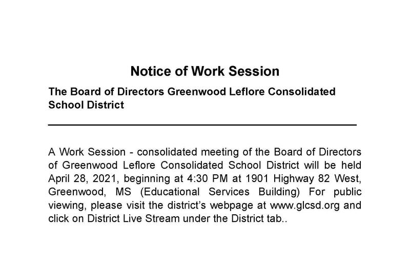 GLCSD BOARD WORK SESSION Featured Photo