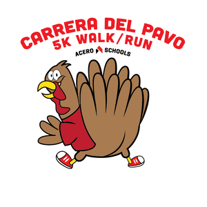 Sign up for the first annual Carrera del Pavo. Click the attached document for more information and a link to sign up.