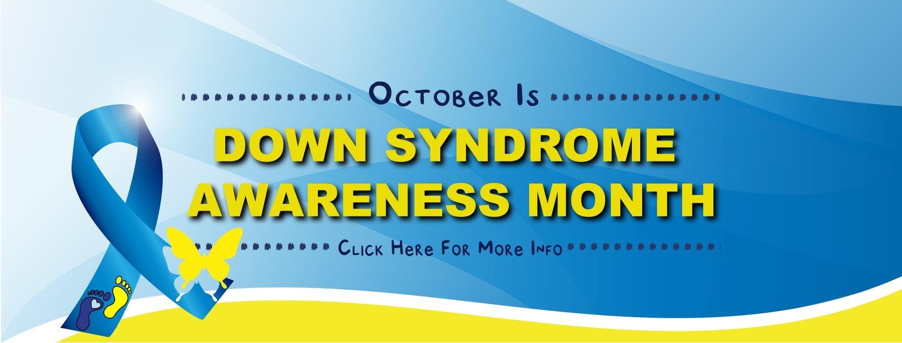 Down Syndrome Awareness Month Banner