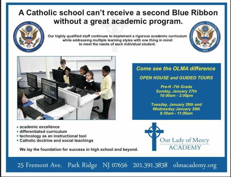 CATHOLIC SCHOOLS WEEK OPEN HOUSES SET Thumbnail Image