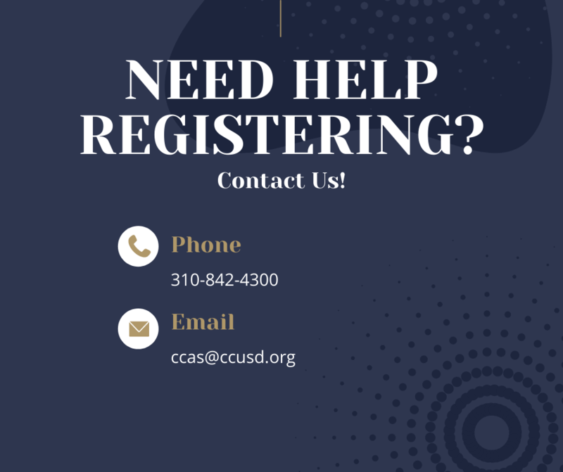 Do you need help registering for classes? Thumbnail Image