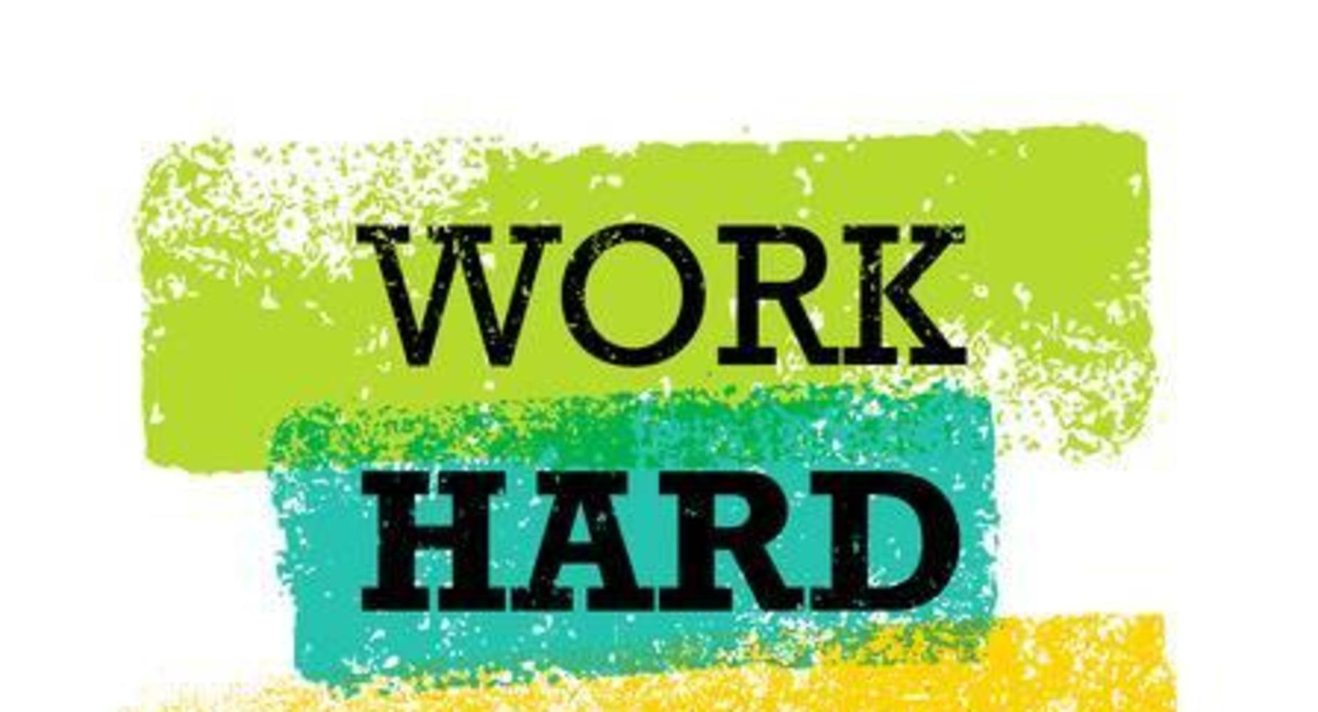 picture work hard