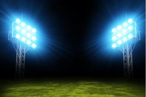 Image displaying stadium lights