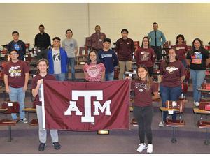 A&M NASA HAS Program students