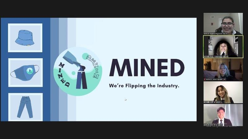 Virtual Enterprise's MINED team makes strides in an online setting Featured Photo