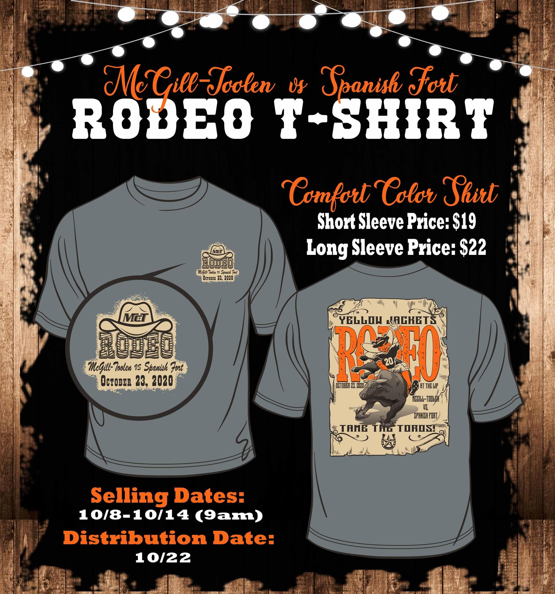Tame the Toros Spirit T-Shirt