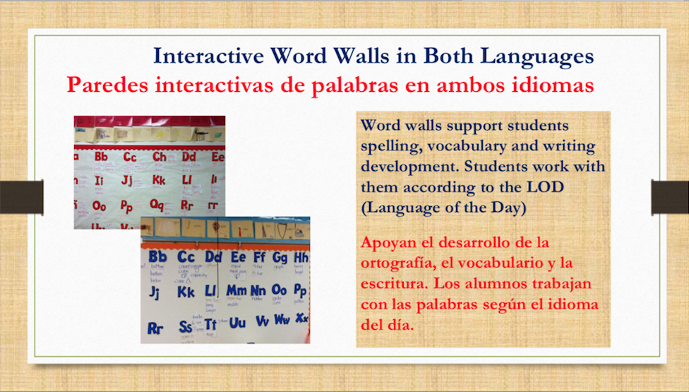 Dual language slide 6