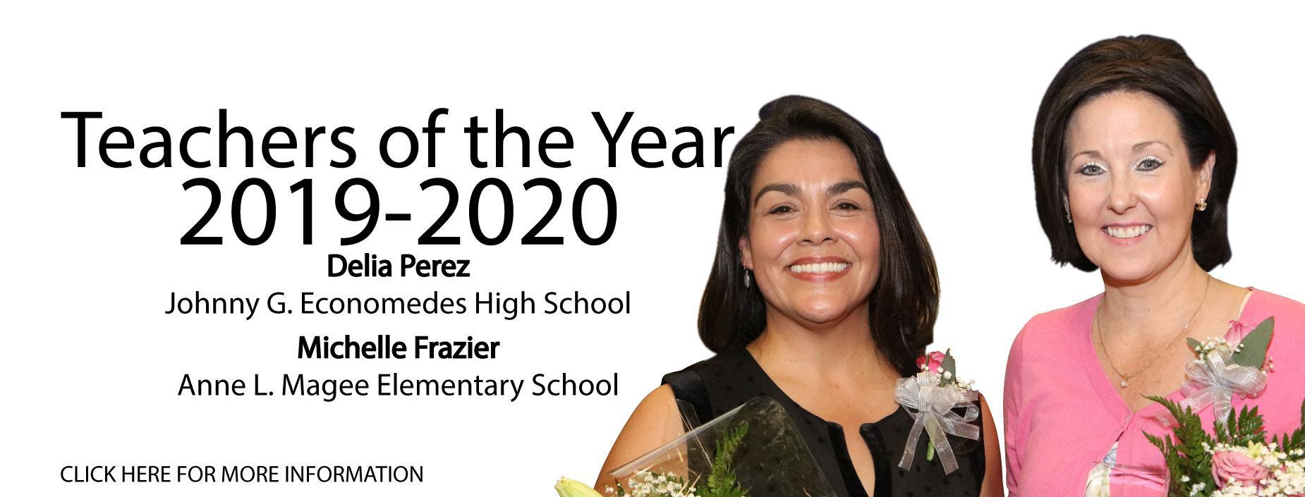 2019-2020 Teachers of the Year