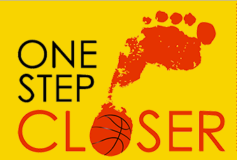 One Step Closer Basketball Logo
