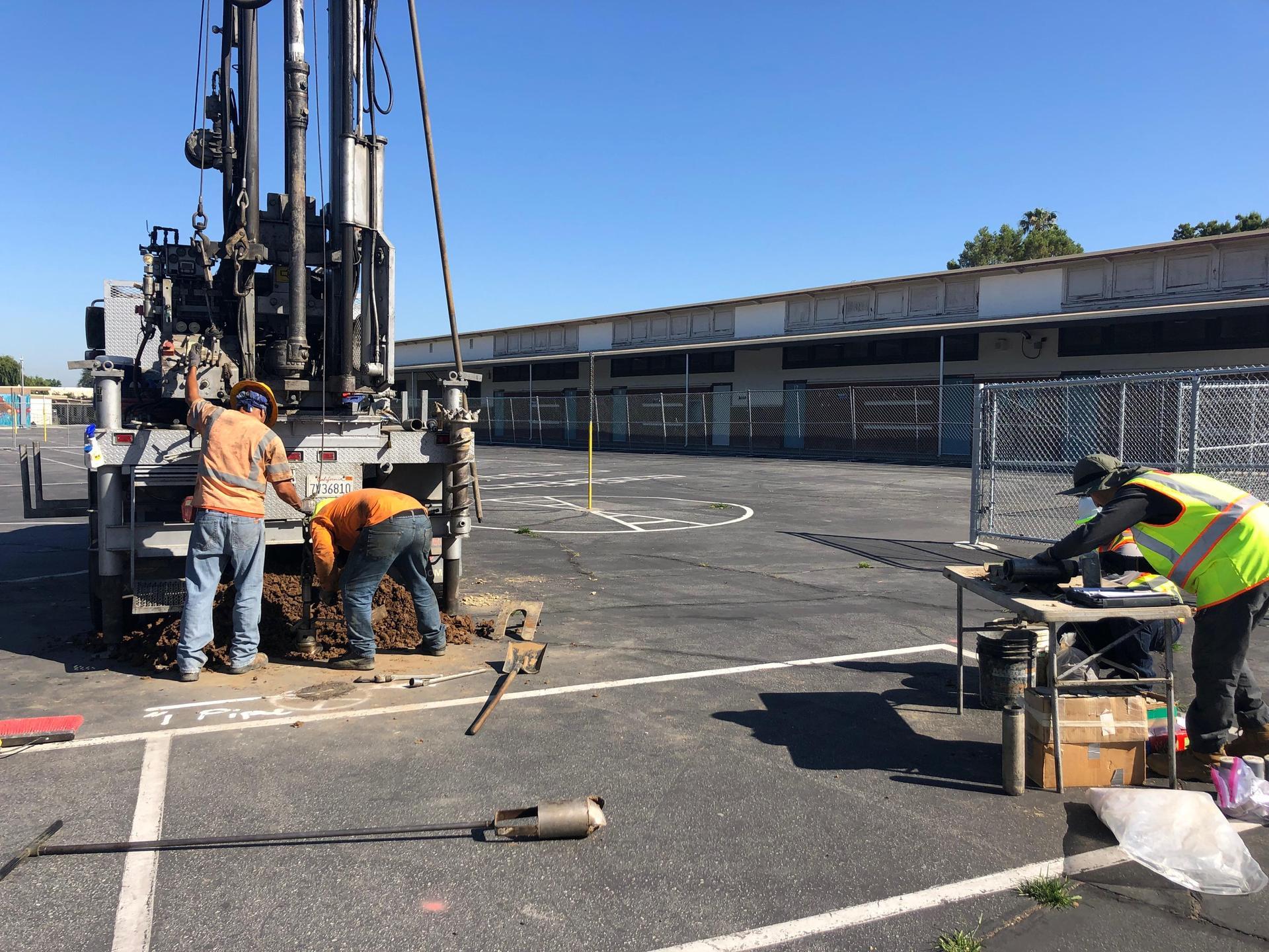 Boring drilling
