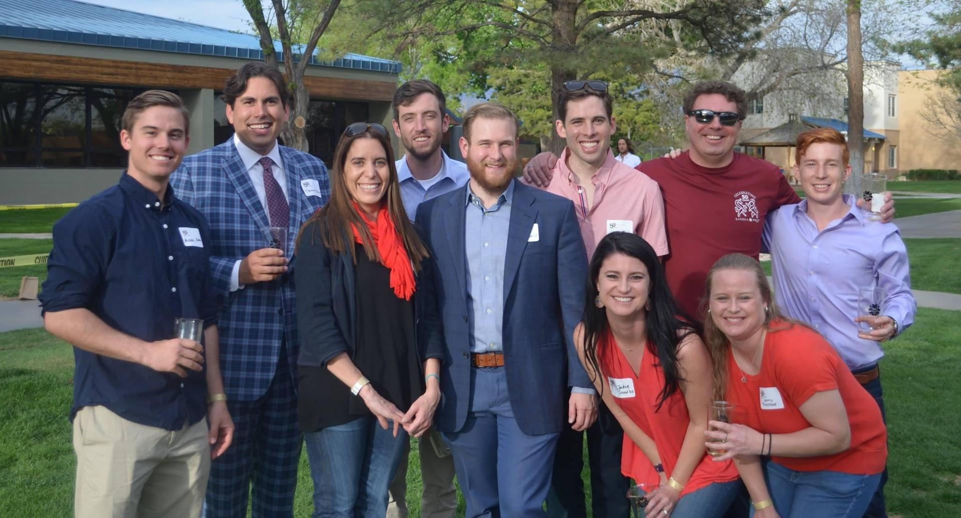 The Young Alumni Committee hosted a 'Classroom Crawl' during the School's DECADES celebration. Alumni from the past 50 years participated in the important fundraising event.