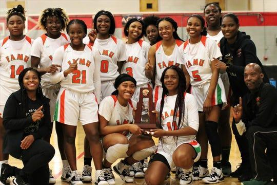 FAMU DRS Girls Basketball Wins District Title