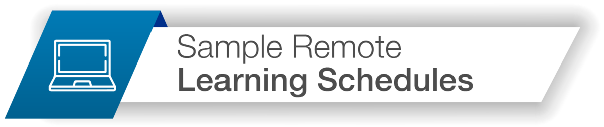 Sample Remote Learner Schedules