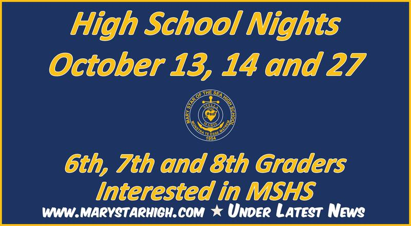 High School Nights for 6-8 Graders Featured Photo